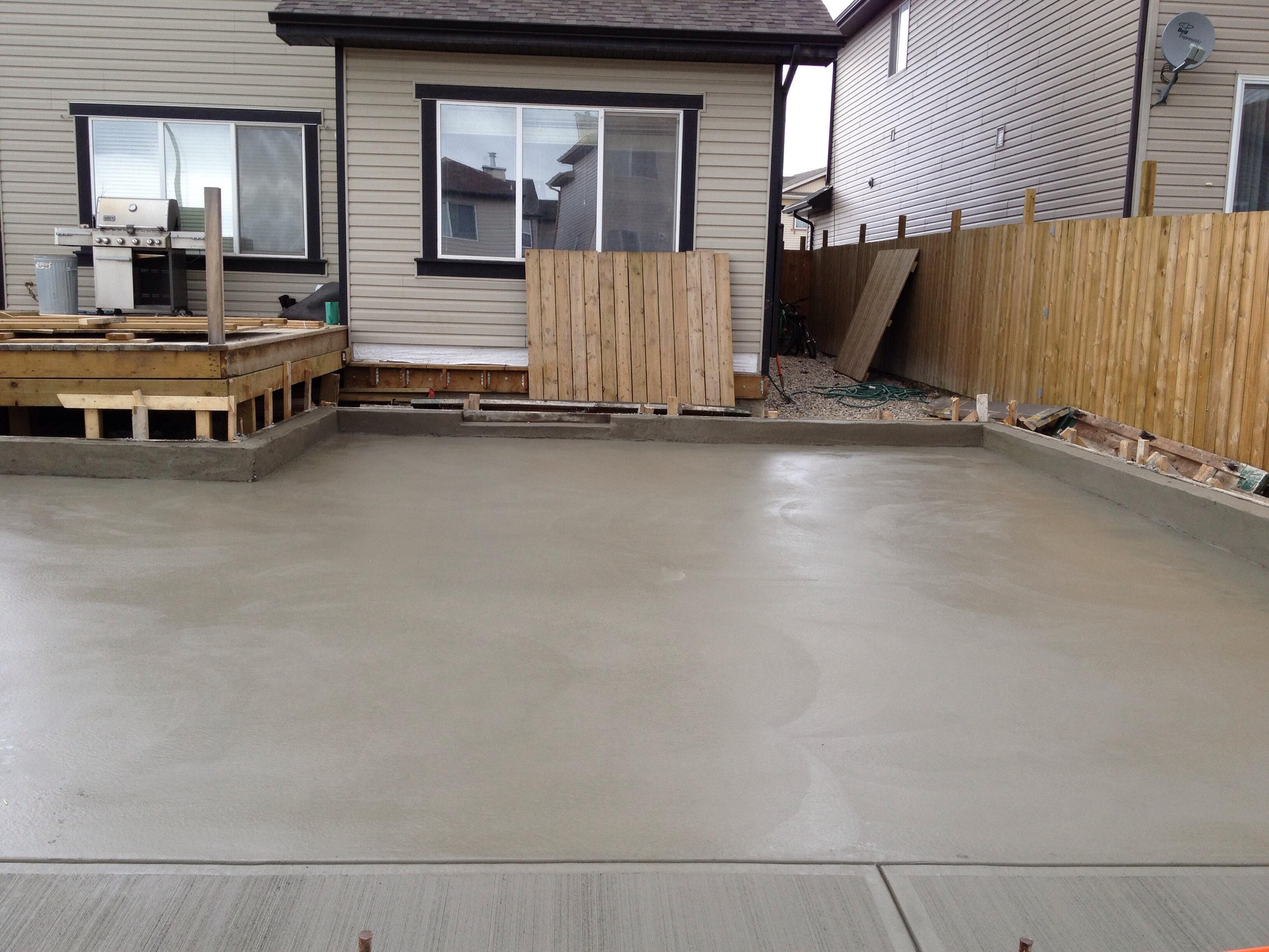 Garage Pad Calgary